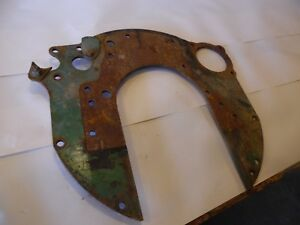 Oliver 1800 a Farm Tractor Rear Engine Plate