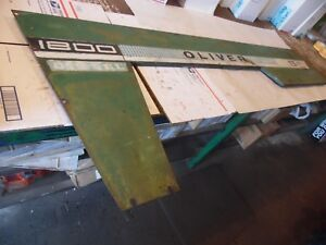 Oliver 1800 a Farm Tractor Left Hood Panel nice