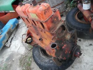 1955 Case 400 Gas Farm Tractor Engine ran At Removal