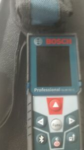 Bosch Glm50 C Bluetooth Enabled Laser Distance Measurer W Color Backlit Display