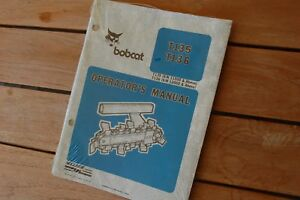 Bobcat T135 T136 Trencher Ditcher Plow User Safety Owner Operator Manual Book