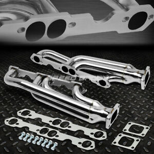 For Chevy Sbc 283 327 350 400 T3 Stainless Steel Racing Turbo Manifold Exhaust