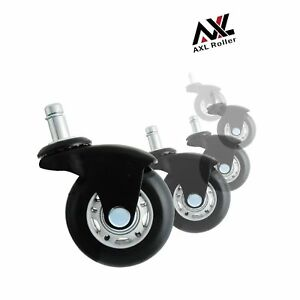 Axl 2 5 Office Chair Caster Wheel Replacement Rollerblade Wheels Heavy Duty