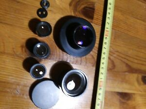 Set Ussr Lomo Condenser Microscope Direct oblique Light Lens Eyepiece