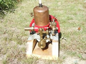 Antique Hit Miss Engine Hit Miss Gas Engine Stationary Engine Marine Engine