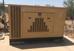 1999 Olympian G35f1s Generator natural Gas