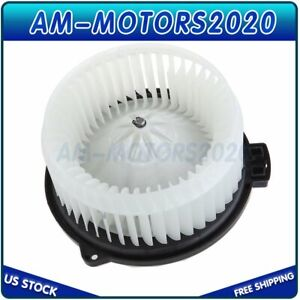 Car Heater Blower Motor With W Fan Cage For Honda Civic Element Acura El Front