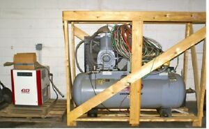 Champion Air Compressor Hra15 12 Fully Packaged 15 Hp 3 Phase 230v W air Dryer