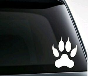 Wolf Paw Vinyl Decal sticker For Car Truck Bumper Wall Window Laptop Decor