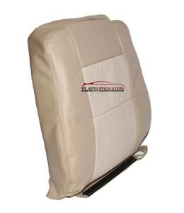 2007 Ford Explorer Eddie Bauer Xlt 4x4 Driver Lean Back Leather Seat Cover Tan