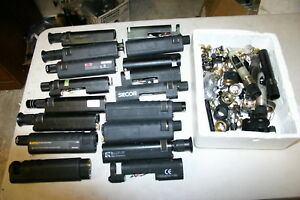 Large Parts Lot 5 Westover Jdsu Fiber Optic Inspection Microscope Fm Fmae
