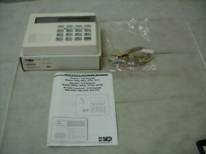 Dmp Security Command Wall Mount Lcd Security Alarm System 4 zone Keypad 790 w