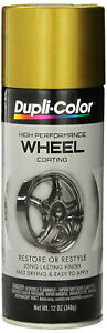 Duplicolor Hwp107 Gold Coat Wheel And Rim Spray Paint Aerosol 12oz