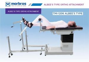 Operation Theater Surgical Table Albee s Type Ortho Attachment Surgical