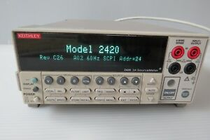 Keithley 2420 3a Sourcemeter Smu Source Meter 60w