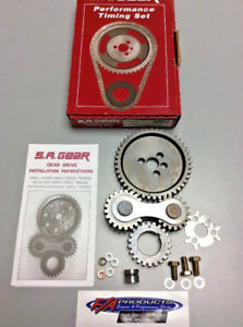 Small Block Chevy 283 350 Engines Quiet Gear Drive Timing Kit S a Gear 78400q