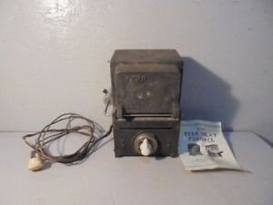 Vintage Kerr Inlay Furnace No 2 For Parts Or Repair