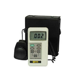 General Dlm2000 0 1 To 20 000 Lux Digital Light Meter With Hard Case
