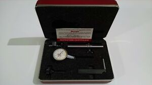 Starrett 708acz Dial Test Indicator With Attachments In Excellent Condition