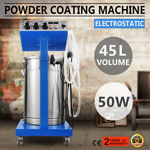 Wx 958 Powder Coating System Machine Professional Paint System Duster Newest
