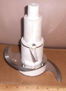 Waring Caf31 Commercial Food Processor S cutting Blade With Mid blade Ships Free