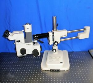 Olympus Szh 10 Stereo Zoom Microscope With Photo