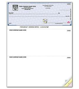 Quickbooks High Security Business Checks By Deluxe nebs Sdlt103 Or Sdlt104
