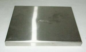 Lipshaw Stainless Steel Slide Staining Dish Cover Lid Free Shipping