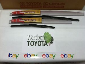 2009 2018 Toyota Corolla Oe Oem Type Sightline Wiper Blade Kit Genuine