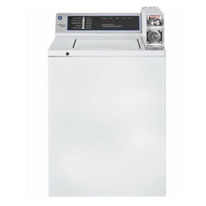 Ge Wccn2050fwc 3 7 Doe Cu Ft Capacity Coin operated Washer