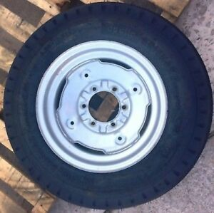 One Take Off 6 00 16 Apollo Krishak Premium 8 Ply 3 Rib Tractor Tire Used