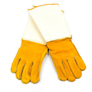 Leather Welding Gloves Size Small 10 Inch Cuff Mig Tig 12 Pair