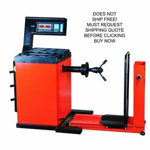 Kernel Heavy Duty Automotive Semi Truck Tire Wheel Balancer System Machine