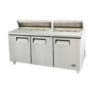 Atosa Msf8304 Sandwich Prep Table Refrigerator Series