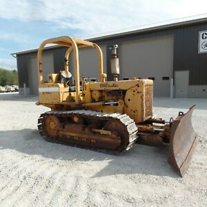 1980 Dresser Td7e Dozer International Harvester Good Shape Over All 6 Way Blade