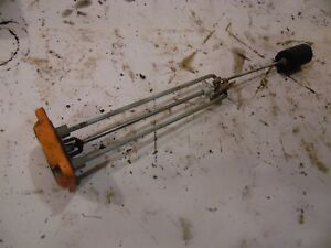 1964 Allis Chalmers D 15 Gas Farm Tractor Fuel Gauge works Good