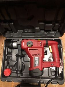 New Chicago Electric 1 1 8 69274 Sds Rotary Hammer Drill 0 800 Rpm W case