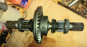 Case 530ck Backhoe Tractor Ring An Pinion Assembly Complete 430 540c Gears