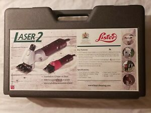 Lister Laser 2 Shearing Clippers