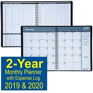 House Of Doolittle 2680 02 2019 2020 2 year Monthly Planner With Expense Log