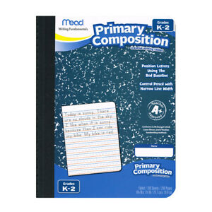 Mead Primary Composition Book full Page Ruled 100sht 12 Ea 09902