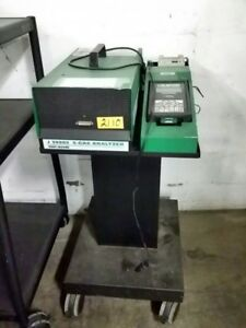 Kent Moore 5 gas Analyzer With Stand Cart