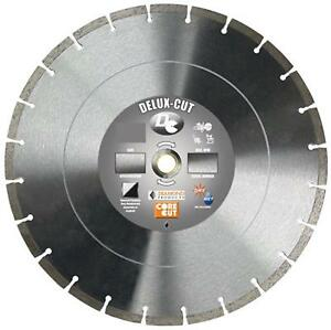 Diamond Products Core Cut 20888 14 inch By 0 125 By 1 inch Delux Cut Dry Or Wet