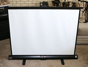 Draper Piper Portable Projection Screen great Condi read Info