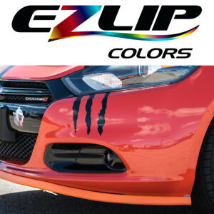 The Original Ez Lip Colors Orange Universal Body Kit Air Spoiler Ezlip Easy