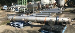 Used Stainless Steel Distillation Column 12 Dia X13 Height 304 Stainless Steel