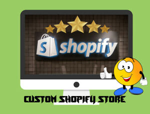 I Will Build A Custom Shopify Dropshipping Store website Ready In 1 2 Days