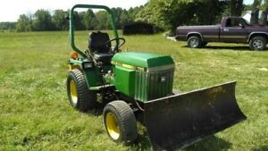 Clean John Deere 755 With Front Blade Tractor Can Ship Cheap