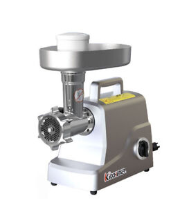 Kitchener Heavy Duty Stainless Steel Electric Meat Grinder stuffer 330 lbs hr