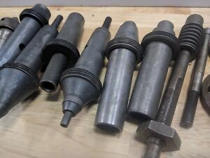Assorted Gleason Tooling About 5 In Length